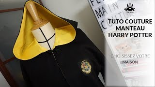 Sewing Tutorial: make the Harry Potter coat