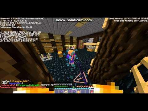 Minecraft - [Sunrise] Raid De la Augmentia: /!\ Raid en plusieur partie je pense (5/6 partie)