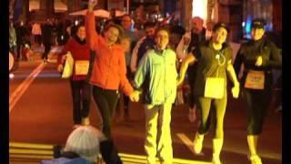Die RNF-Damenstaffel beim MLP Marathon Mannheim Rhein-Neckar