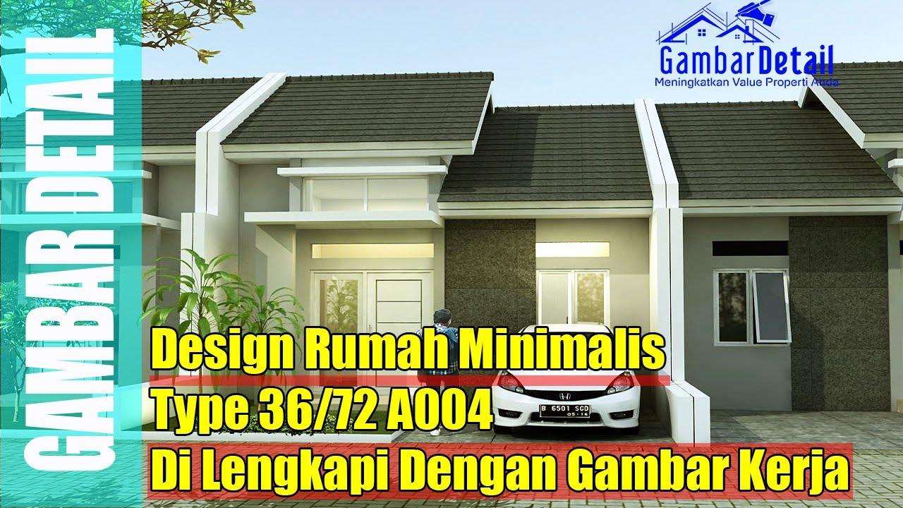 Desain Rumah Minimalis Type 36 72 l Desain Interior l ...