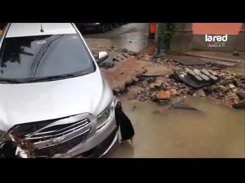 Intensas lluvias en Río de Janeiro dejan decenas de desaparecidos