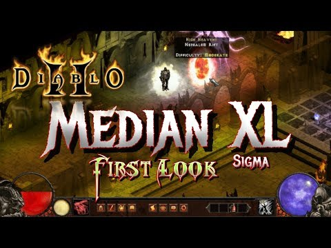 Median XL Sigma - First Look - Diablo 2