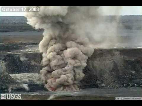 Kīlauea Explosive Eruption October 2008