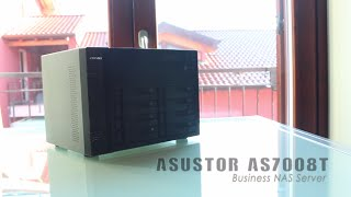 asustor as7008t video recensione hw legend