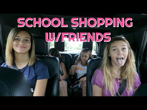 MORE BACK TO SCHOOL SHOPPING, NAILS, ARCADE, AND SAVING A TURTLE WHAT???