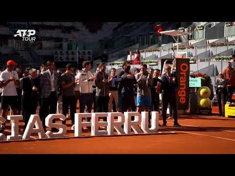 Federer, Nadal & More Stars Honour Ferrer At Retirement Ceremony In Madrid 2019