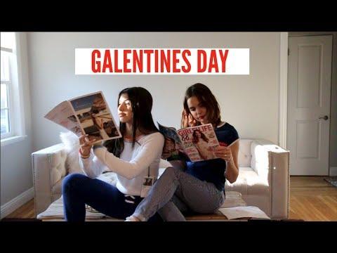 GRWM Galentines Day