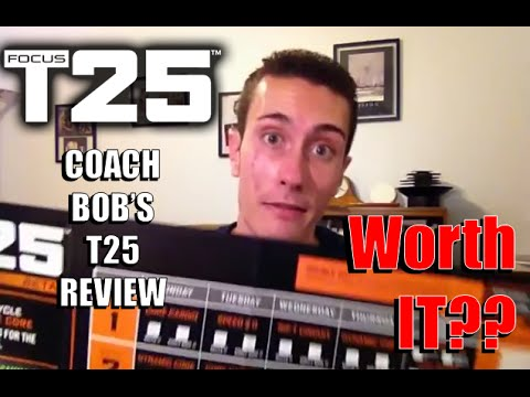 Focus T25 Review | Worth the Time and Money?