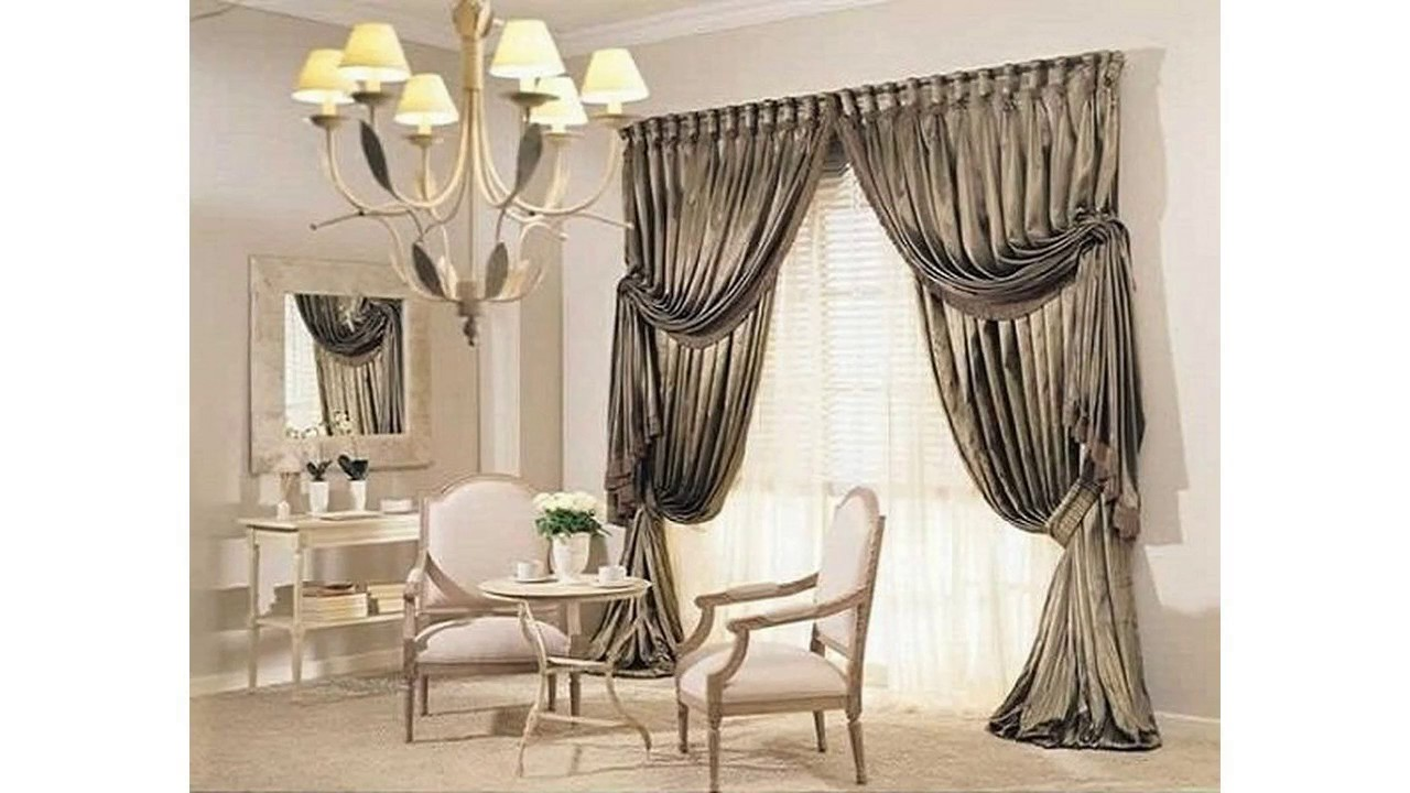 rideaux id es pour salon youtube. Black Bedroom Furniture Sets. Home Design Ideas