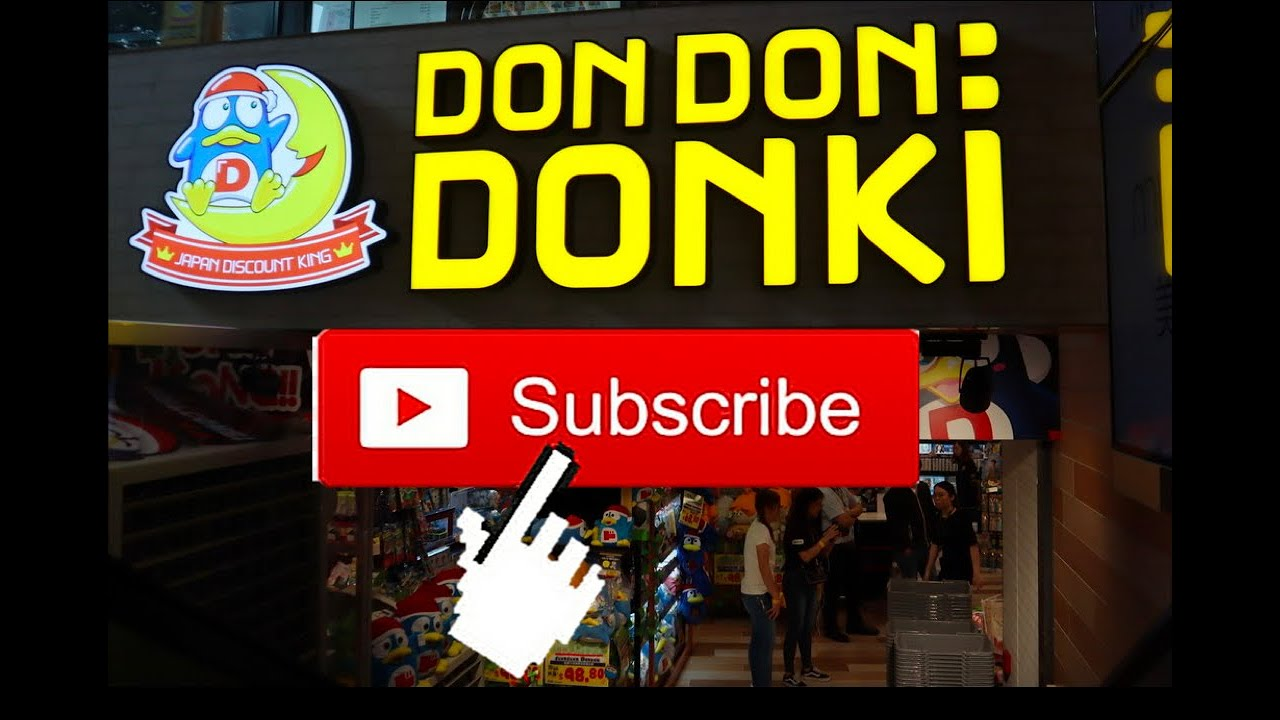DON DON DONKI HK [Donki theme song: Miracle Shopping Clear version] 香港驚安之殿堂 廣東話主題曲 清晰版本 - YouTube