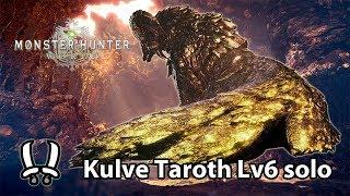 MHWorld | Kulve Taroth Lv6 solo (Dual Blades) - 11'37