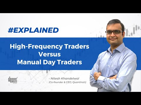 High-Frequency Traders Vs. Manual Day Traders #AlgoTradingAMA