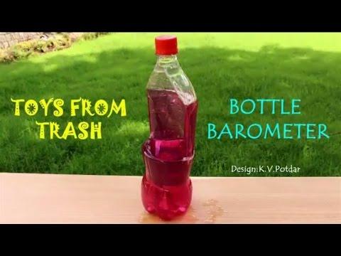 Bottle Barometer | English | Coke Bottle Fun!