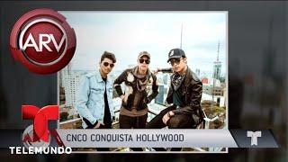 CNCO arrasa en Hollywood | Al Rojo Vivo | Telemundo