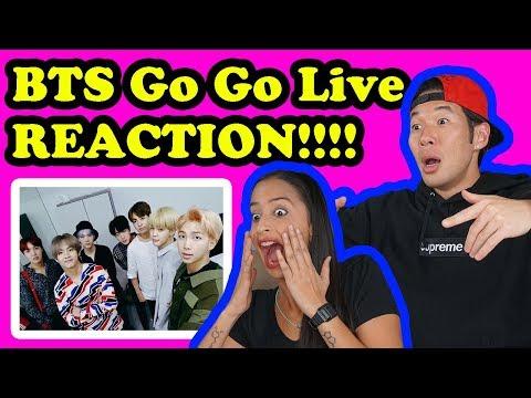 BTS -  GO GO - BTS LIVE REACTION!!!!
