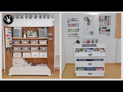 DIY - Organisation und Ordnung im Arbeitszimmer - MAKEOVER I Teil 2