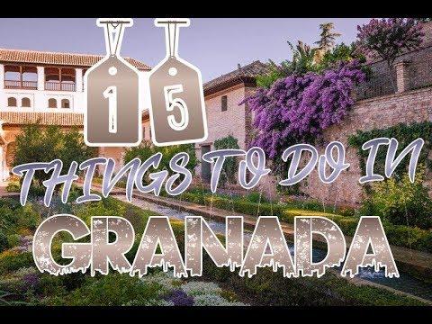 Top 15 Things To Do In Granada, Spain