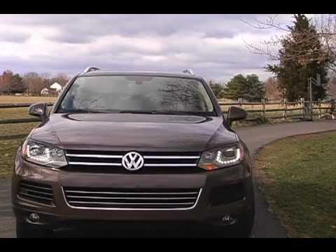 2011 VW Touareg TDI Review