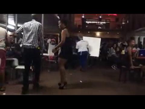 Watch Zodwa Wabantu and Refiloe live twerking at Eyadini 3 April 2017