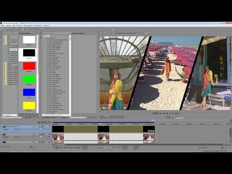 Sony Vegas Pro 13 — Монтаж видео для новичков | ➤Видеоурок