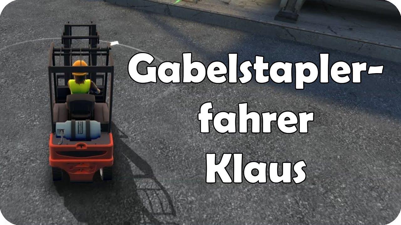 Gabelstaplerfahrer Klaus