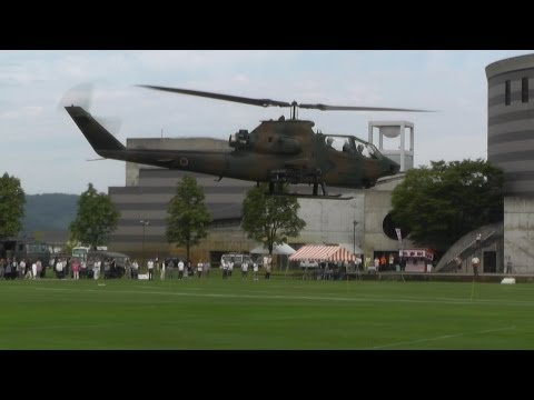 """""""Cobra & Huey"""" JGSDF (Japan Ground Self Defense Force) AH-1S & UH-1H in OYABE Helicopter Festival"""