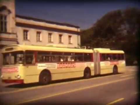Salzburg: Trolleybuses in the 70s / Obus Siebziger Jahren