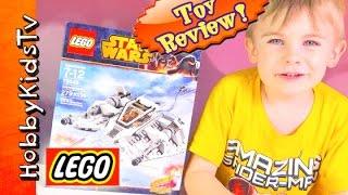 Lego Star Wars Snow Speeder 75049 Build And Play With Hobbyfrog By Hobbykidstv