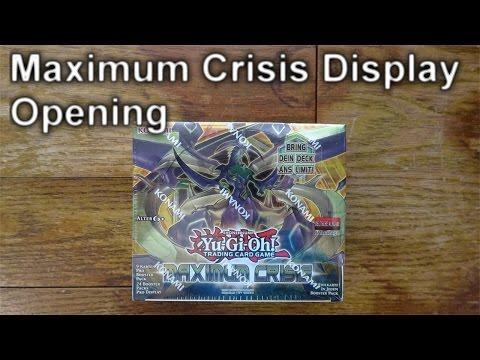 YuGiOh MAXIMUM CRISIS Display Opening (4K)