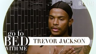 Grown-ish Star Trevor Jackson's Nighttime Skincare Routine Go To Bed With Me Harper&# ...