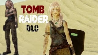 LIGHTNING RETURNS FFXIII - Unlocking TOMB RAIDER DLC Survivor Outfit + LARA Axe & Shield