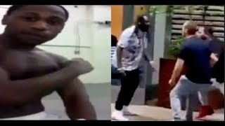 2 Ufc Fighter Catch T Pain Lackin Beat Him For Scamming 50,000 From Q Money..DA PRODUCT DVD