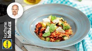 Kritharaki těstoviny s rajčaty, olivami a fetou - Roman Paulus - RECEPTY KUCHYNĚ LIDLU