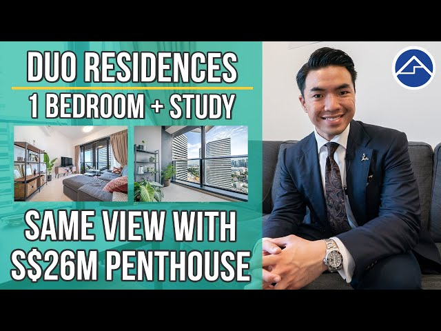 Duo Residences | 1 Bedroom + Study with 5-Stars Hotel-like facilities