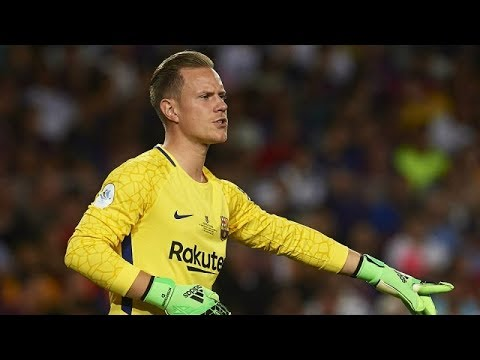 2a7a43c2a Marc-André ter Stegen ○ Best Goalkeeper ○ Best Saves 2017 18 HD ...