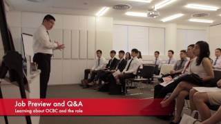 Personal Financial Consultant Job Preview and Interview Day at OCBC Campus
