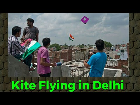 Kite Flying Tricks|How to fly a kite||Independence Day Special|Kite Flying In Delhi|