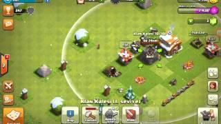 Clash of clans klan da oynama