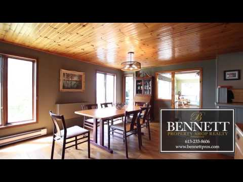 Waterfront Home For Sale | 5803 Loggers Way Ottawa ON |  Bennett Property Shop Realty