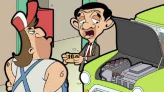Scrapping the mini - Mr Bean the animated series