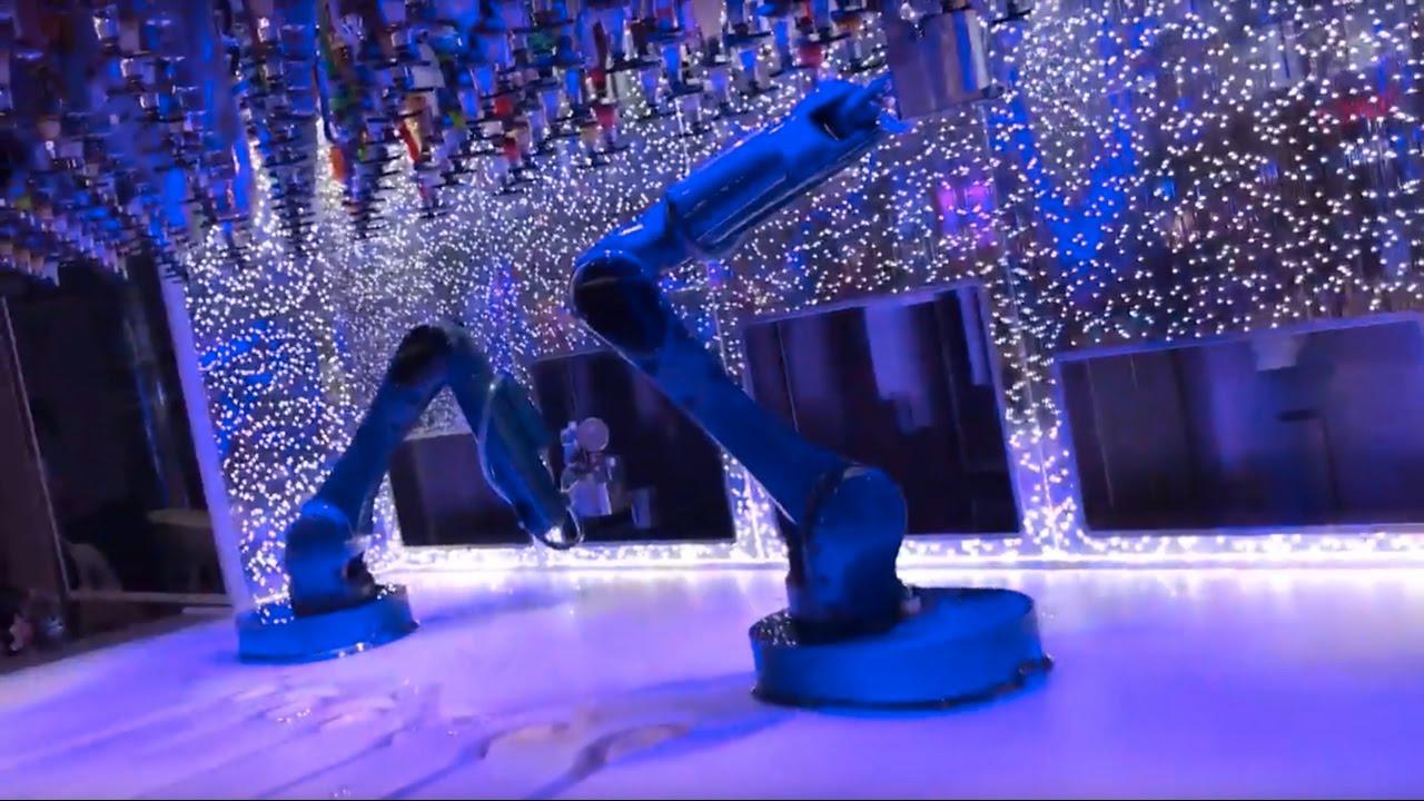 Bionic Bar Harmony Of The Seas Robotic Bartenders