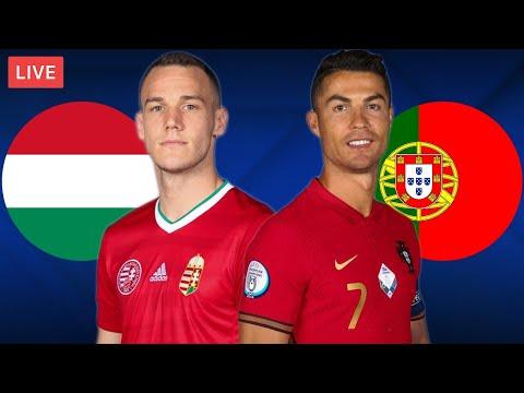 HUNGARY vs PORTUGAL - LIVE STREAMING - EURO 2020 - Football Match