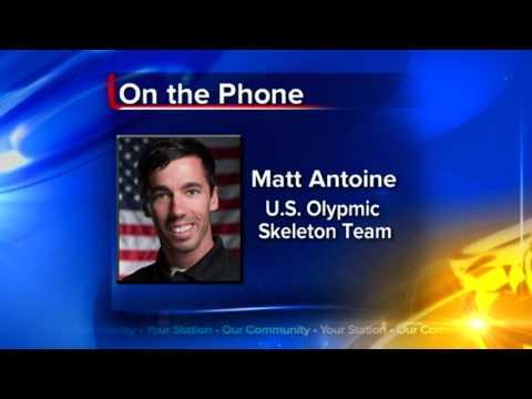 PdC native Matt Antoine makes US Olympic skeleton team