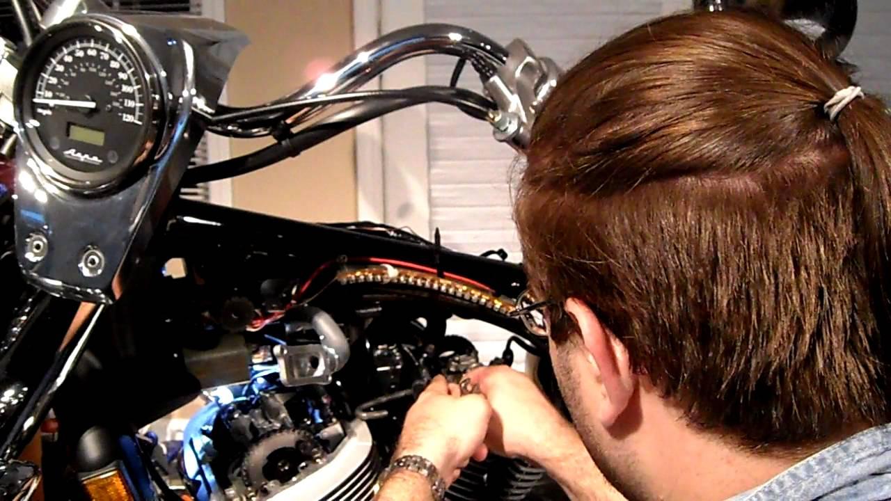 SOLVED: 2008 Honda VT 750 Shadow Aero carburetor adjustmen