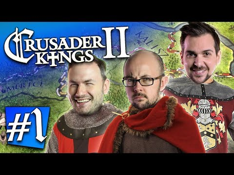 Crusader Kings II #1 - My One Eyed Son