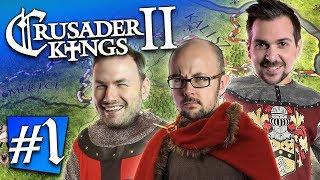 Crusader Kings II #1 - My One Eyed Son