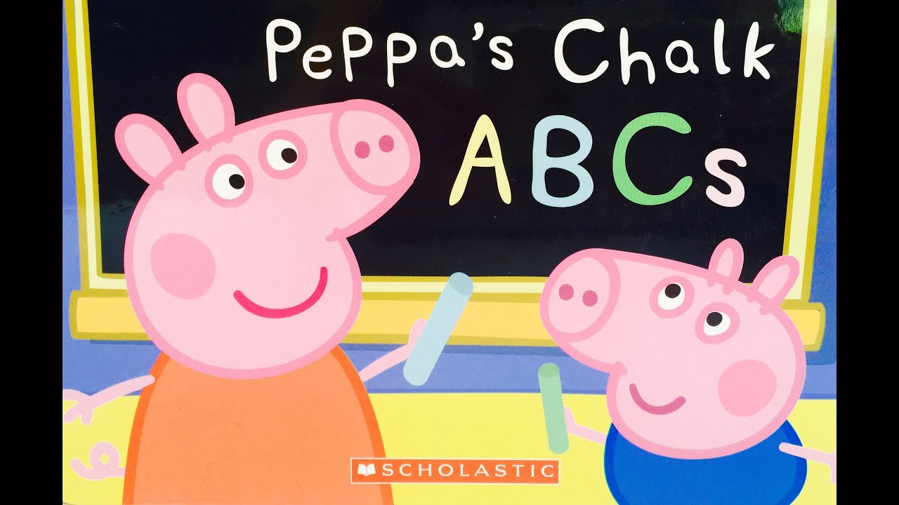 Peppa Pig's Chalk ABC's Learning Book