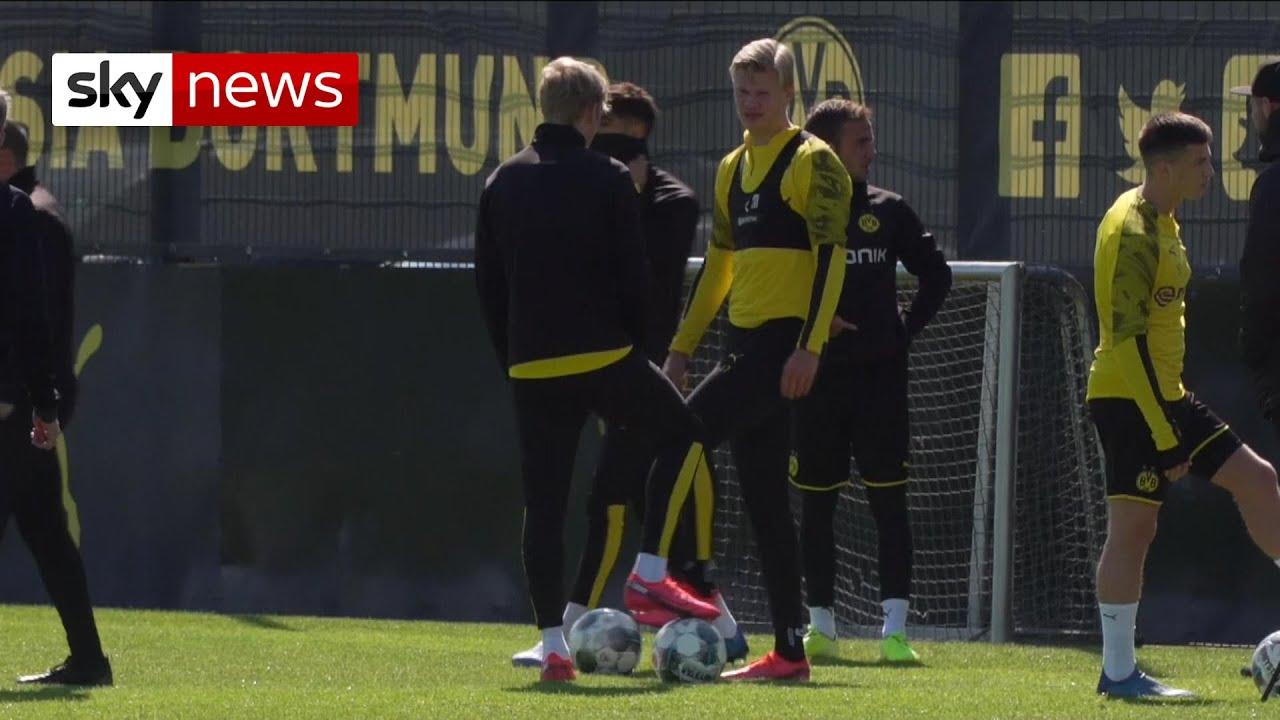 Bundesliga's return from coronavirus lockdown No fans, plenty of ...