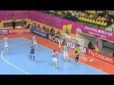 FIFA Futsal World Cup 2012 | Italy 3 - 2 Argentina