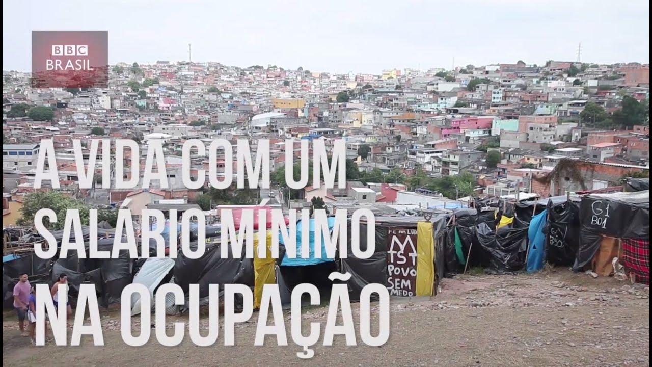 Resultado de imagem para Família vive com um salário mínimo em uma ocupação em São Paulo
